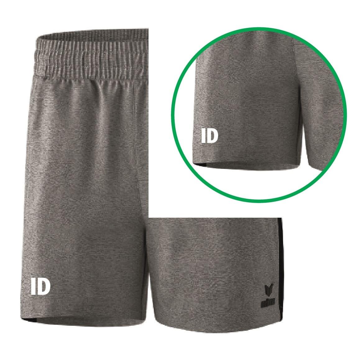 Druck Initialen Unterteil/Hose/Shorts einfarbig vorne